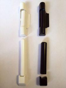 Spalva: balta ir ruda